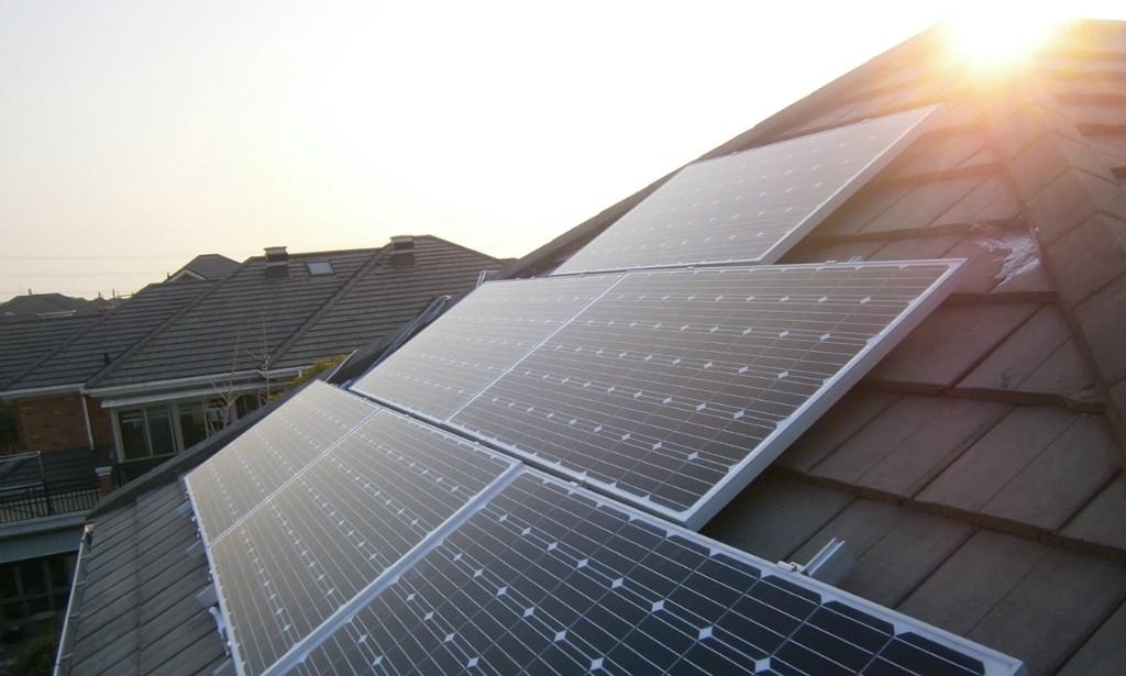 home solar pv system