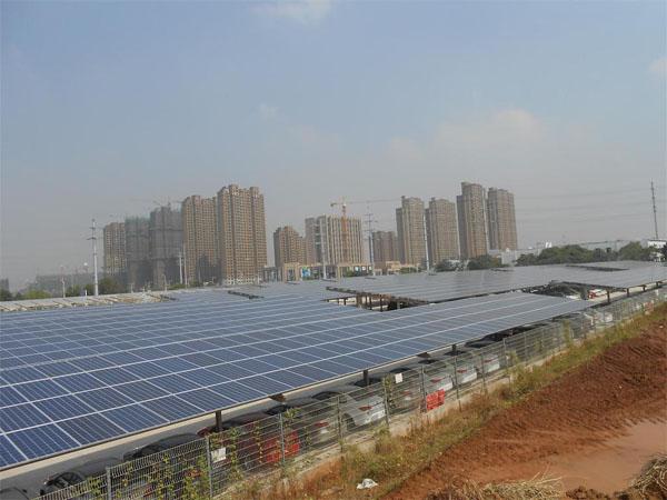 shanghai carport solar pv